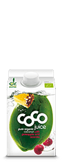 coconut water pineapple acerola Kokoswasser Ananas Acerola 500ml