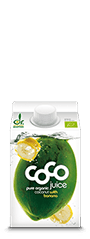 coconut water banana Kokoswasser Banane 500ml