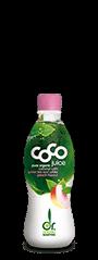 coconut water greentea peach Kokoswasser Grüntee Pfirsich