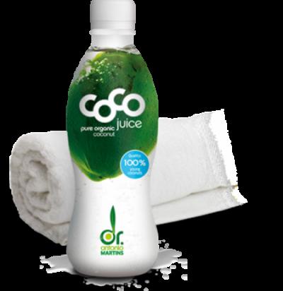 Dr Antonio Martins coconut water Kokoswasser Sport